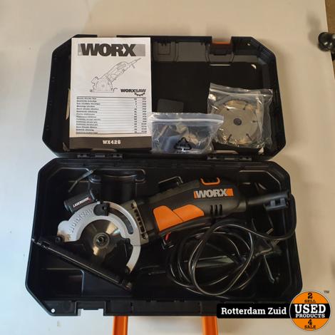 Worx WX426 Handcirkelzaag || in nieuwstaat met garantie ||