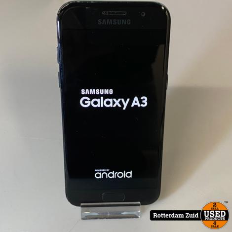 Samsung A3 2017 - 16GB Black || in nette staat met garantie ||