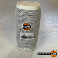 JBL Link 10 Wit - Draadloze Smart Speaker met Google Assistent || Nieuw ||