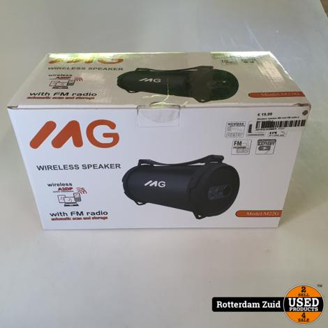 Wireless speaker MG met FM radio || NIEUW in doos