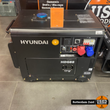 Hyundai Diesel generator HDG88 8KW 14HP || nieuw ||