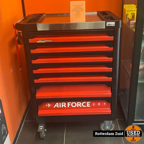 Airforce Jet Gereedschapskar compleet || Nieuw