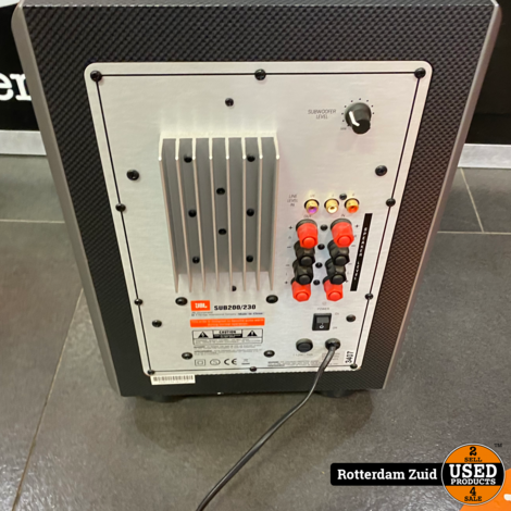 JBL SCS200.5BK Speakerset 5.1 met pootjes