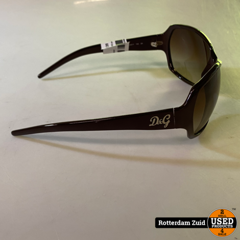 D&G 8018 zonnebril met koker
