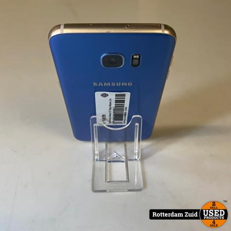 Samsung Galaxy S7 Edge Blauw || in nette staat met garantie ||
