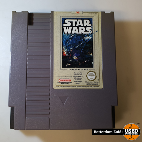 Nintendo NES Game: Star Wars