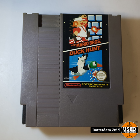 Nintendo NES Game: Mario Bros / Duck Hunt