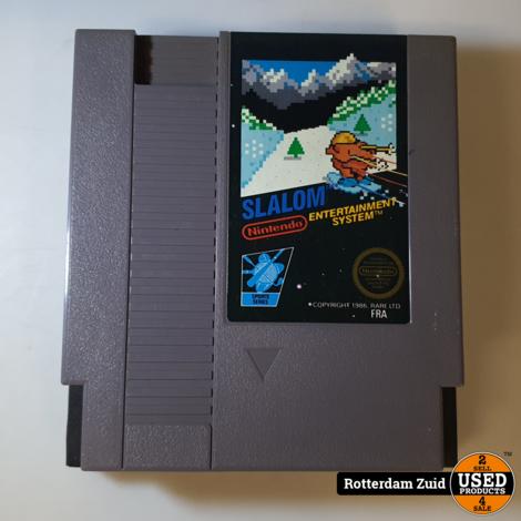 Nintendo NES Game: Slalom