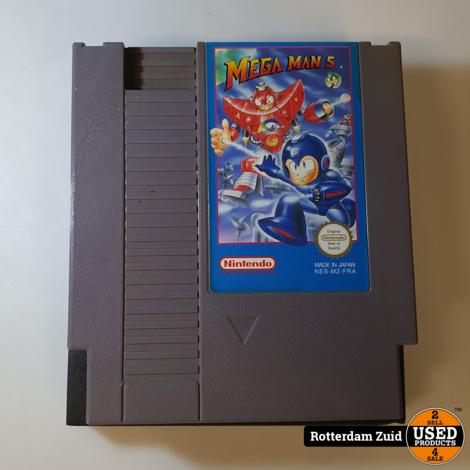 Nintendo NES Game: Mega Man 5
