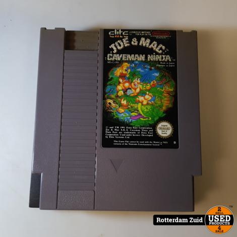 Nintendo NES Game: Joe & Mac Caveman Ninja