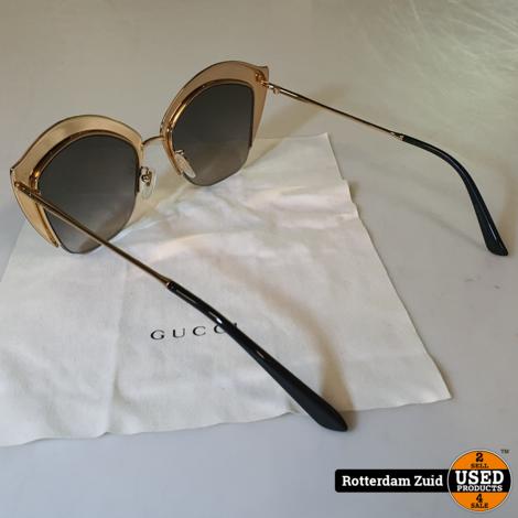 Gucci Swarovski Crystal Cat Eye Sunglasses