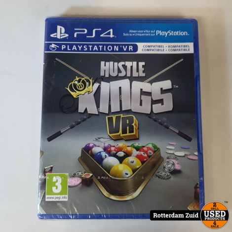 PS4 Game: Hustle Kings VR || NIEUW