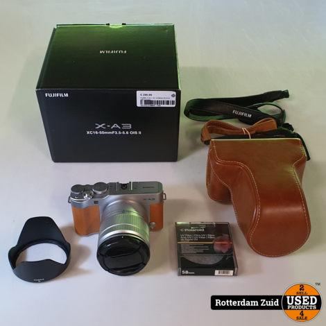 Fujifilm X-A3 + XC 16-50mm f/3.5-5.6 OIS Caramel