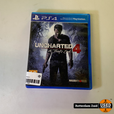 PS4 Game: Uncharted 4