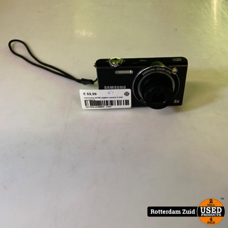 samsung sh100 digital camera II met garantie II