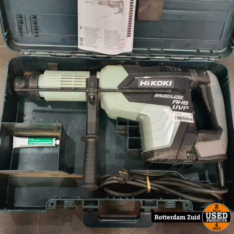 Hikoki DH52MEY Boormachine II in koffer II met garantie