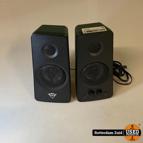 trust cxt608 computer speakers II met garantie II