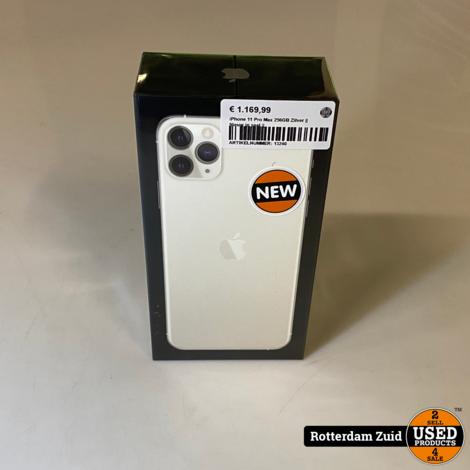 iPhone 11 Pro Max 256GB Zilver || Nieuw in seal ||