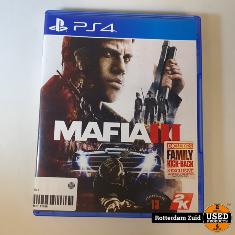 PS4 Game: Mafia 3