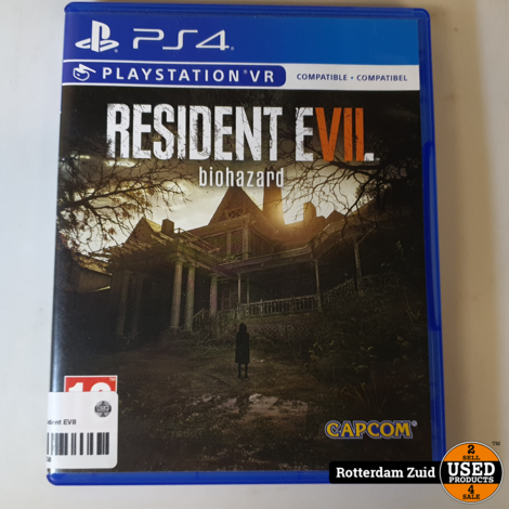 playstation 4 game Resident EVII