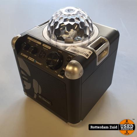 iDance Audio BC100 partybox sing cube met microfoon