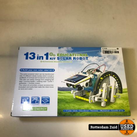 Nature Twin Tree 13-In-1 Solar Robot Kit || Nieuw in doos ||