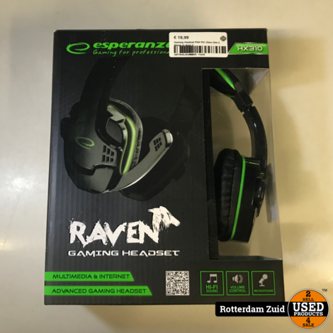 Gaming Headset PS4/ PC/ Xbox One || Nieuw in doos ||