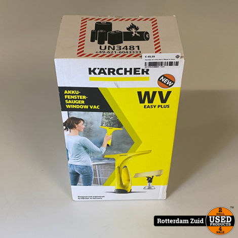 Karcher wv easy plus || Nieuw in doos