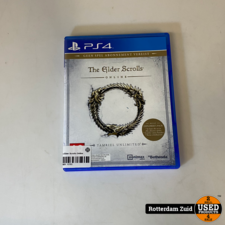 PS4 Game: The Elder Scrolls Online