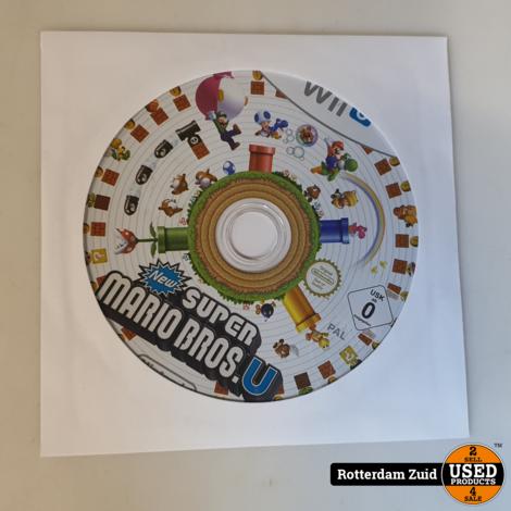 WII U game super mario Bros || Losse disk