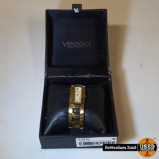 vendoux paris dames horloge Goud II met garantie II