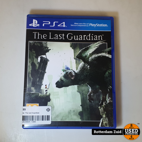 PS4 Game: The last Guardian