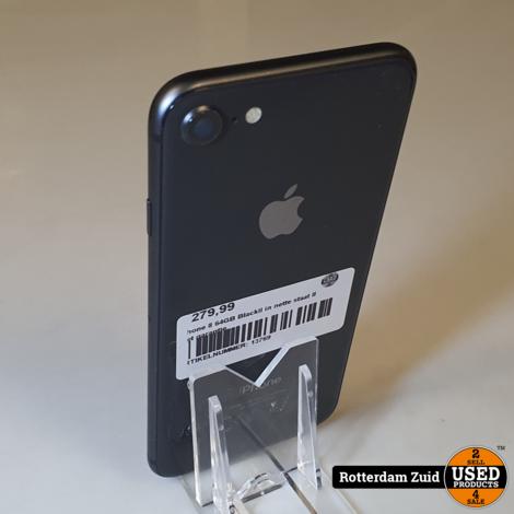 iphone 8 64GB BlackII in nette staat II met garantie