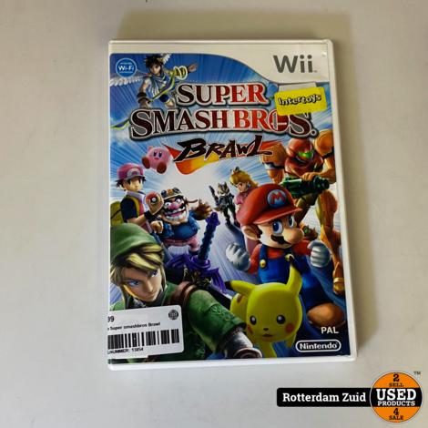 Wii game Super smashbros Brawl