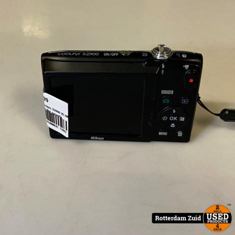 Nikon Coolpix S2900 20.1MP Digitale Camera || Met garantie
