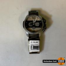 Diesel DZ4389 horloge zilver II met garantie