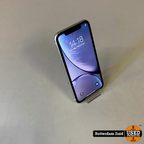 iPhone XR 128GB Wit || in nette staat met garantie ||
