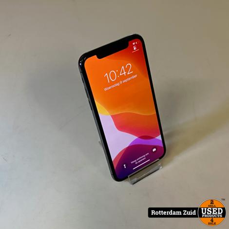 iphone x 64 GB space gray II in nette staat II met garantie