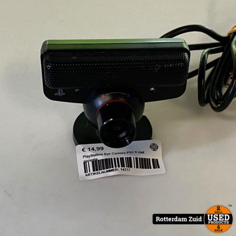 PlayStation Eye Camera PS3 II met garantie