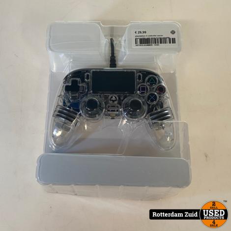 playstation 4 controller nacon doorzichtig met snoer II met garantie