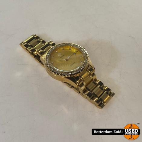 Tevise automatisch horloge goud II met garantie