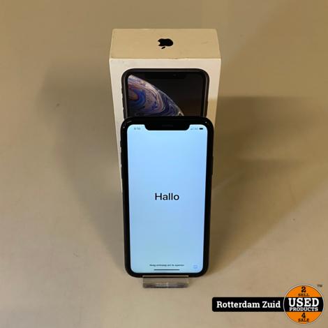 iPhone XR 128GB Black || Nette staat met garantie