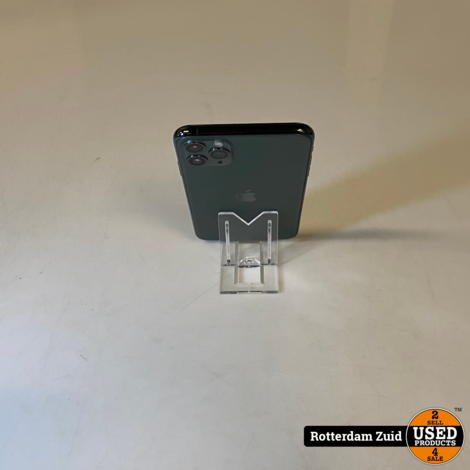 iPhone 11 Pro Max 256GB Midnight Green || in nette staat met garantie ||
