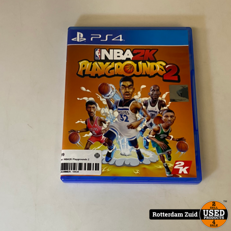 PS4 Game: NBA2K Playgrounds 2