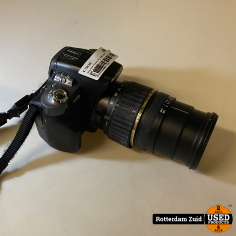 Sony A330 Camera + Tamron AF 18-200 || met lader en garantie