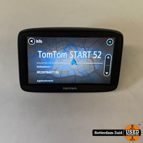Tomtom Start 52 Europe    met garantie