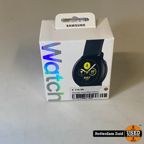 Samsung Galaxy Watch Active || compleet in doos || met garantie