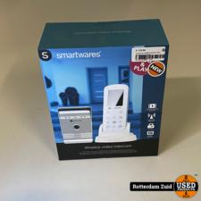 Smartwares VD36W Draadloze video deurintercom II nieuw