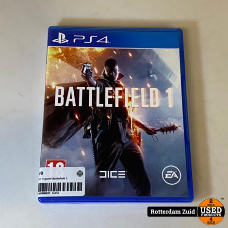 playstation 4 game Battlefield 1