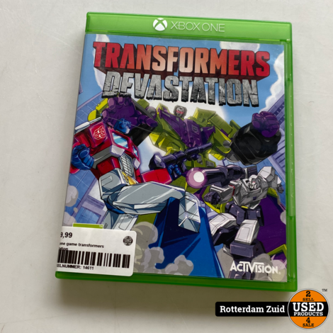 xbox one game transformers dfvastation